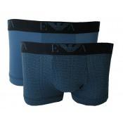 Emporio Armani Underwear Homme - PACK DE 2 BOXERS SIGLÉS - Accessoires Mode - ARMANI UNDERWEAR