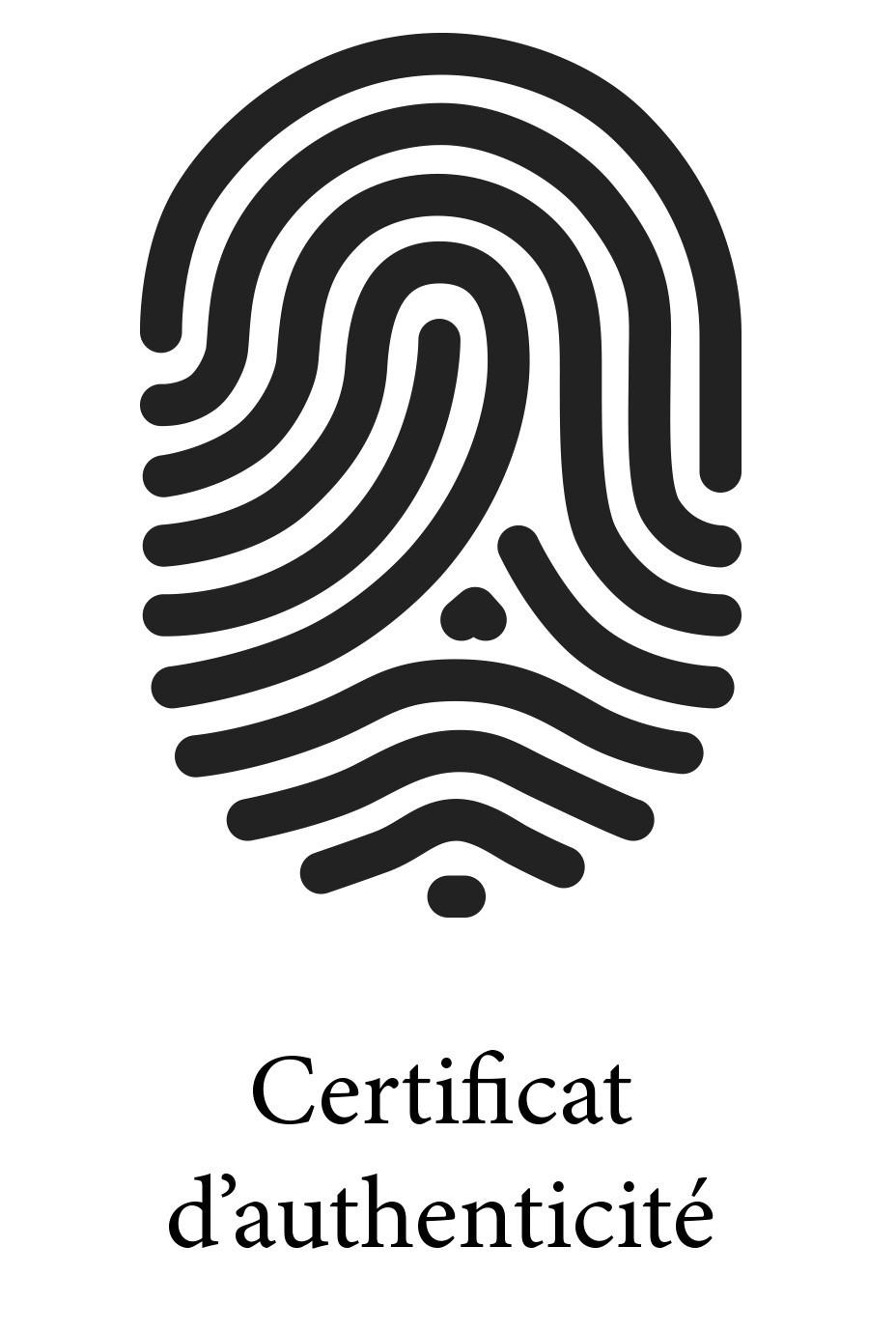 Certificat d'authenticité Bijourama