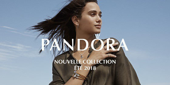 Pandora Bijoux Charms Collection Eté 2018