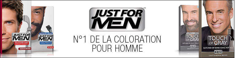 Just for men coloration barbe
