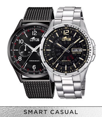 Montres Lotus smart casual