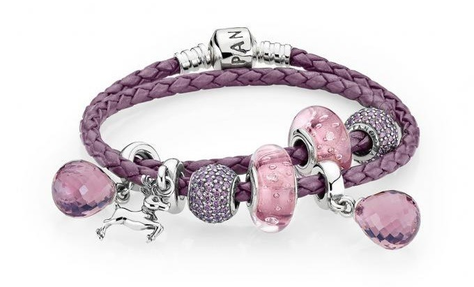 bracelet-pandora-compose-cuir-viole