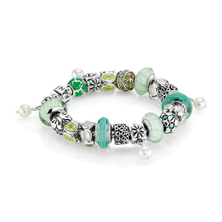 bracelet pandora vert frais
