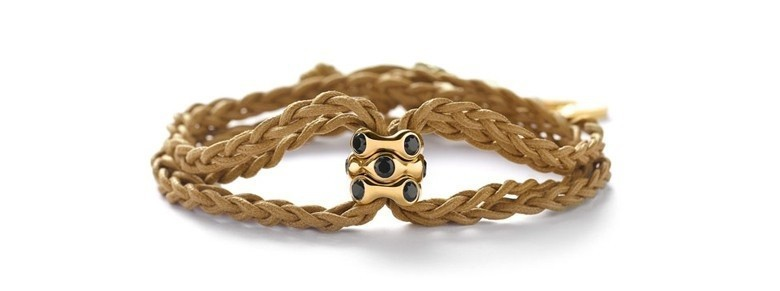 bracelet Pandora multicordons noeuds de pros