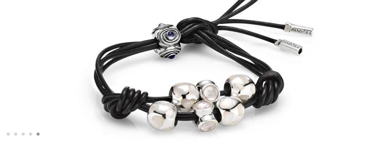bracelet Pandora noeuds diviseurs deux branches