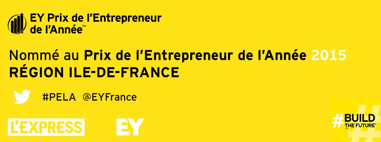 Prix Entrepreneur Année 2015 Shopinvest