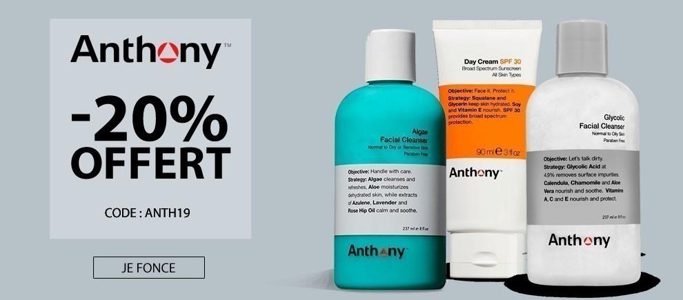 -20% sur la marque Anthony