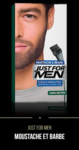 Coloration Just For Men Classique Barbe