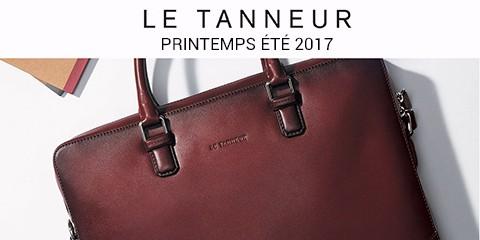 Le Tanneur Nouveautés Maroquinerie Homme Printemps-Eté 2017