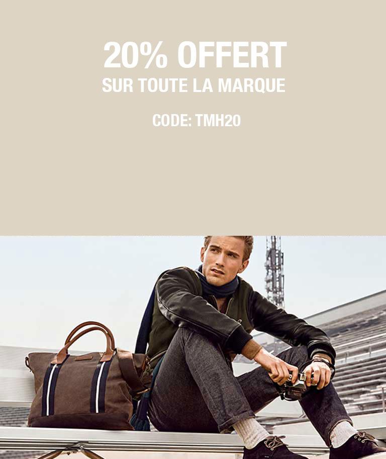 20% sur Tommy Hilfiger sur MenCorner.com