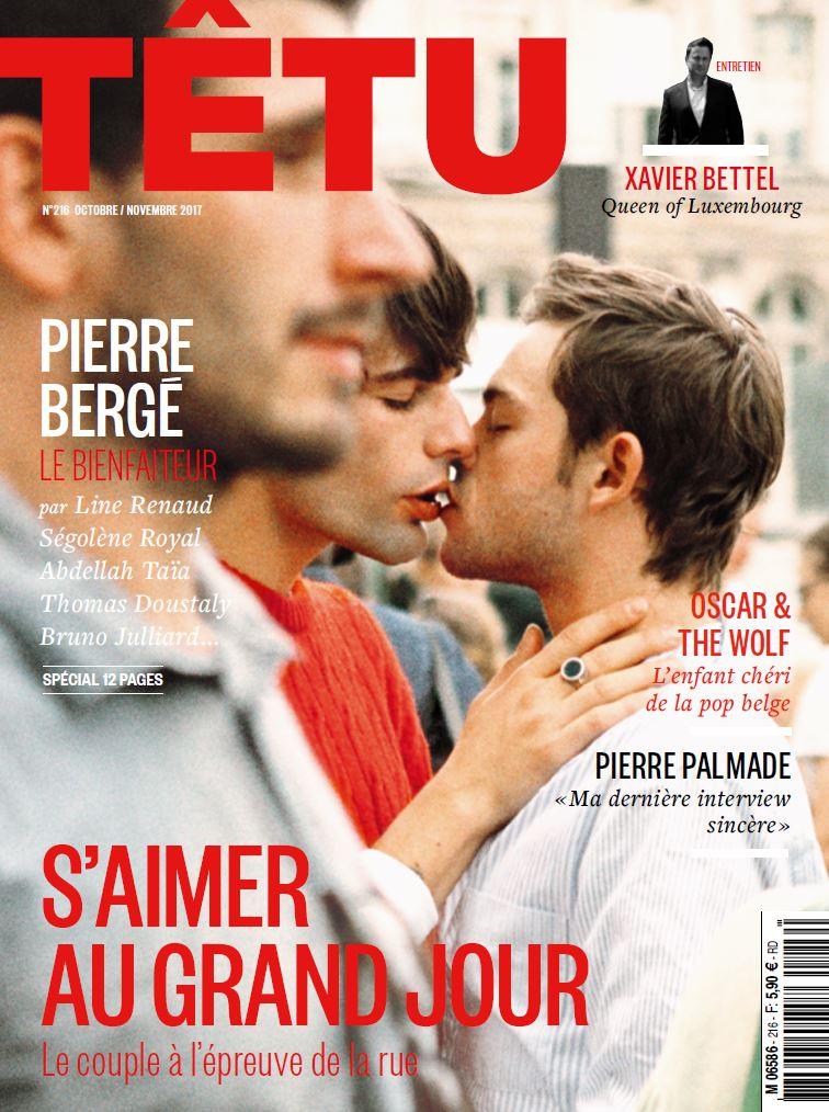 Couverture du magazine Têtu de Novembre 2017