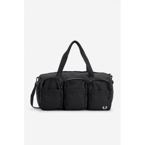 Sac de voyage noir Multipoches - Fred Perry