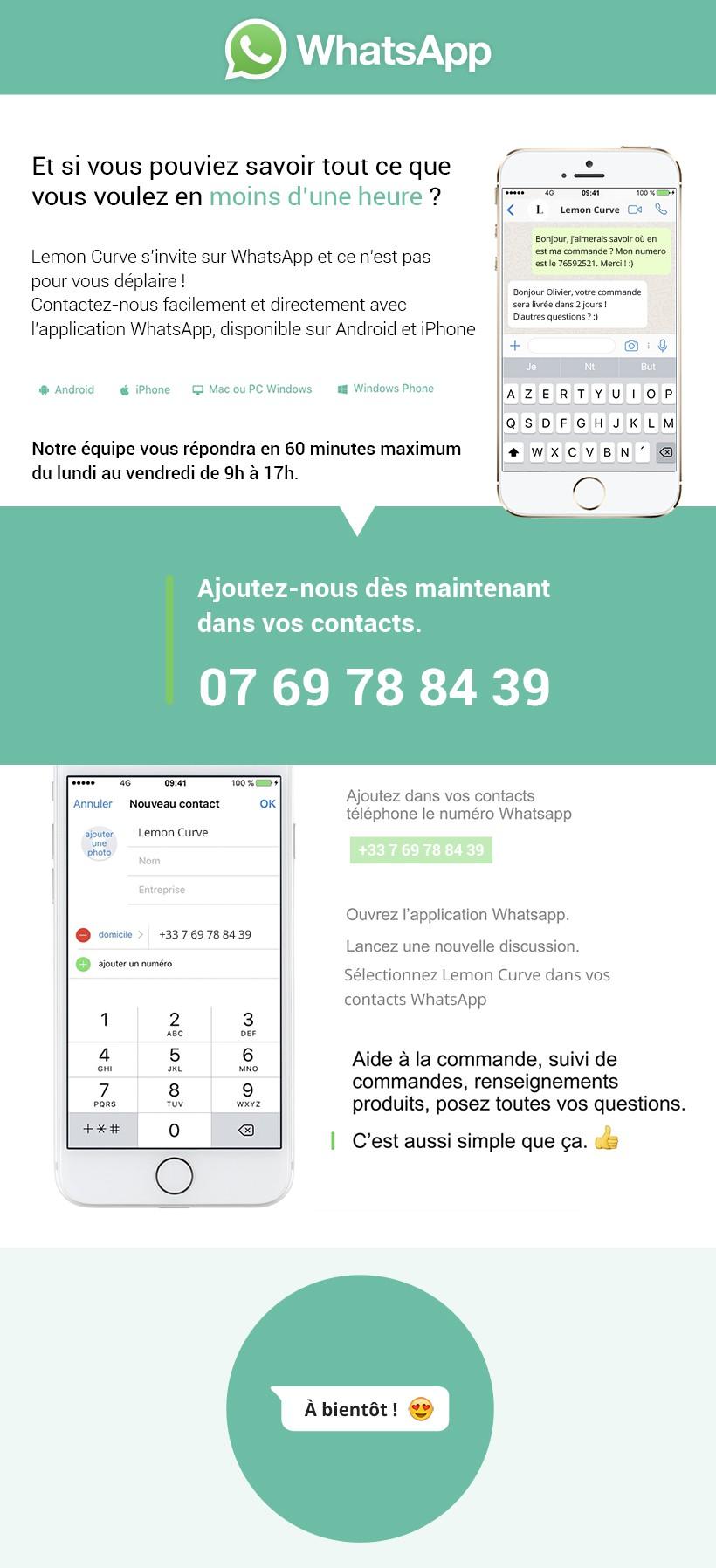 Service Client Whatsapp Bijourama