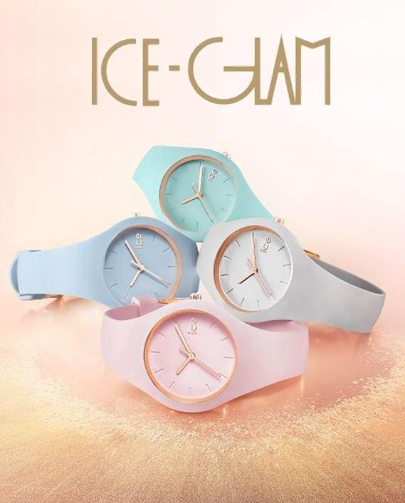 Montres Ice Glam pastel