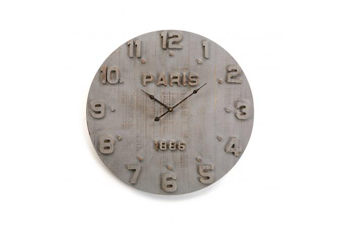 horloge murale béton