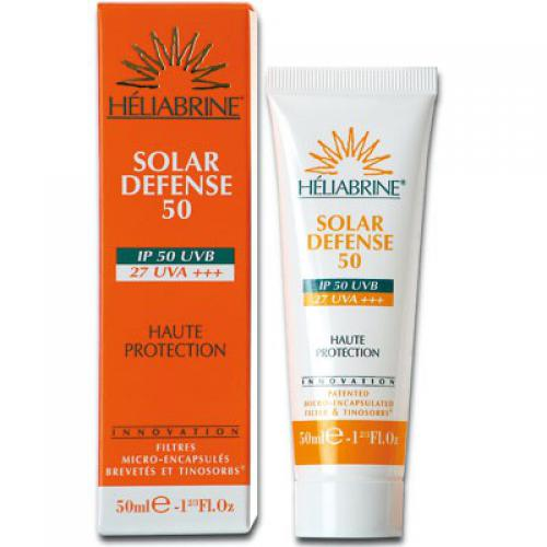 Heliabrine Solaires - SOLAIRE DEFENSE 50 - Soin visage homme