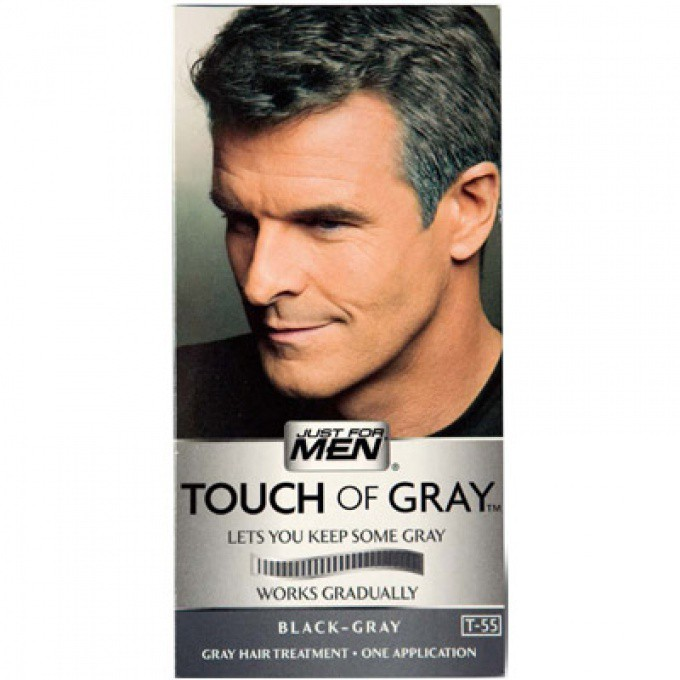 coloration cheveux homme gris #3