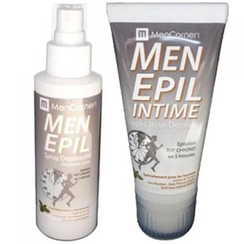 Mencorner.Com - PACK MENEPIL SPRAY & MOUSSE DEPILATOIRES - Epilation homme