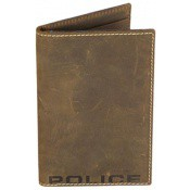 Police Maroquinerie Homme - PORTEFEUILLE VERTICAL CUIR DOUX -