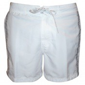 Calvin Klein Underwear Homme - SHORT DE BAIN MEDIUM LOGO TAPE -