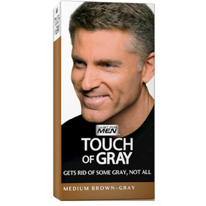 coloration cheveux homme gris chtain just for men - Gel Colorant Cheveux Homme
