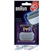 Braun Rasoir Homme - COMBIPACK BRAUN CONTOURPRO 360 - Cuchilla eléctrica y maquina de afeitar