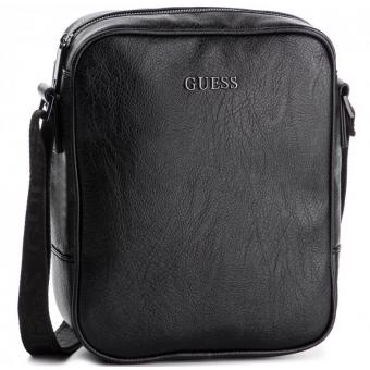 Guess Maroquinerie - Sac reporter City - Guess - Sac homme noir