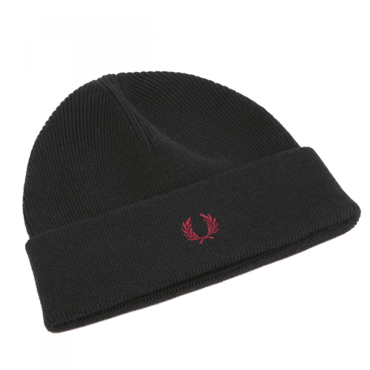 Bonnet laine noir - Fred Perry Fred Perry