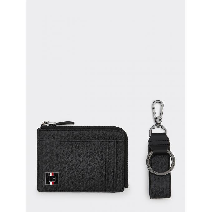 COATED CANVAS ZIP CC HOLDER&KEY Tommy Hilfiger Maroquinerie