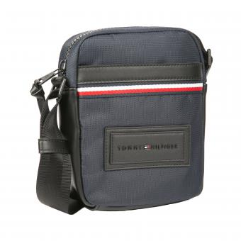 Tommy Hilfiger Maroquinerie - Sacoche bandoulière logotypée nylon - Maroquinerie tommy hilfiger homme