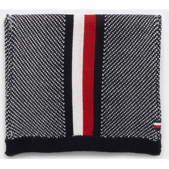 Tommy Hilfiger Maroquinerie - Echarpe corporate intarsia - Accessoire mode homme