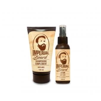 Imperial Beard - Kit Anti Barbe Grise - Imperial beard entretien barbe