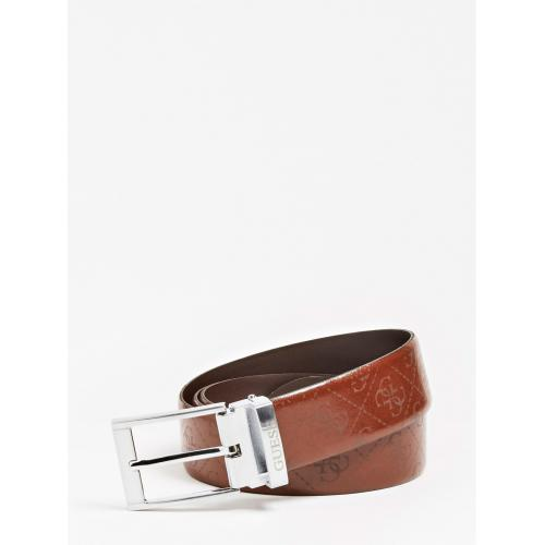Guess Maroquinerie - Ceinture cuir ajustable - Promotions Mode HOMME