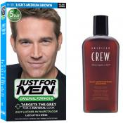 Just For Men - COLORATION CHEVEUX & SHAMPOING - Coloration cheveux homme barbe