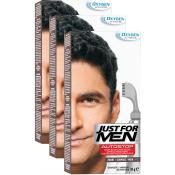 Just For Men - PACK 3 AUTOSTOP Noir - Coloration just for men