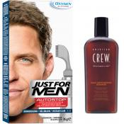 Just For Men - PACK AUTOSTOP & SHAMPOING Châtain Clair - Just for men autostop