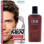 Just For Men - PACK AUTOSTOP & SHAMPOING Châtain - Just for men autostop