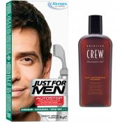 Just For Men - PACK AUTOSTOP & SHAMPOING Châtain Foncé - Promotions