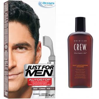 Just For Men - PACK AUTOSTOP & SHAMPOING Noir - Promotions