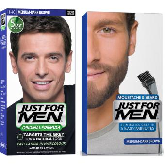 Just For Men - PACK COLORATION BARBE & CHEVEUX - Coloration just for men