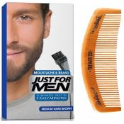 Just For Men - PACK COLORATION BARBE & PEIGNE - Châtain Moyen Foncé - Entretenir sa barbe