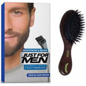 Just For Men - PACK COLORATION BARBE & BROSSE - Coloration homme chatain fonce