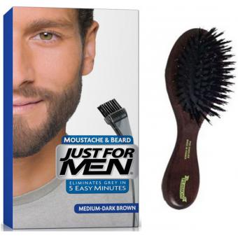 PACK COLORATION BARBE & BROSSE Just For Men