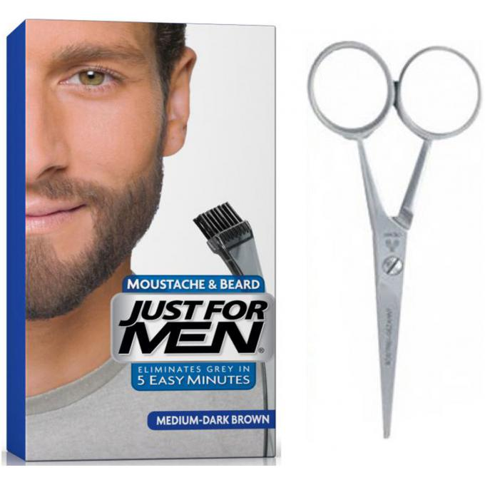 just for men pack coloration barbe ciseaux promotions - Coloration Barbe Grande Surface