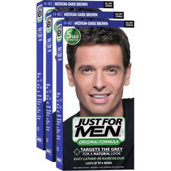 PACK 3 COLORATIONS CHEVEUX Just For Men
