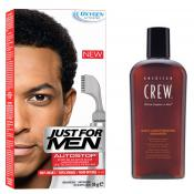 Just For Men - PACK AUTOSTOP & SHAMPOING Noir Intense - Coloration just for men