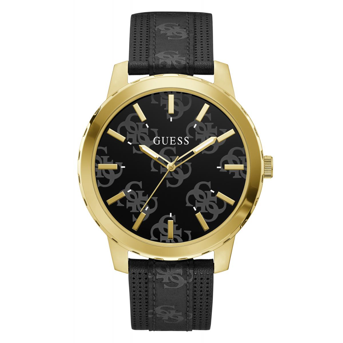 Guess Montres GW0201G1 OUTLAW  homme  Cuir Guess Montres