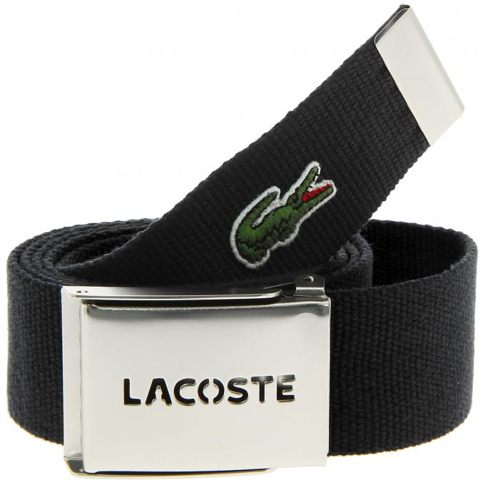 coffret ceinture sportswear sangle tiss e lacoste ceinture bretelle homme. Black Bedroom Furniture Sets. Home Design Ideas