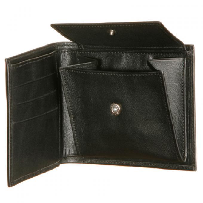 Portefeuille horizontal homme porte monnaie cartes la for Porte monnaie homme