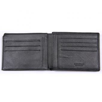 PORTE CARTES & BILLETS EUROPE 3 VOLETS NOIR Paquetage